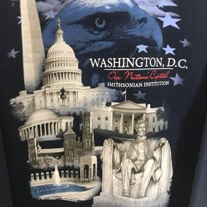 Urban Outfitters Tops - WASHINGTON DC GRAPHIC CREWNECK